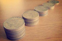 pieniądze na stole